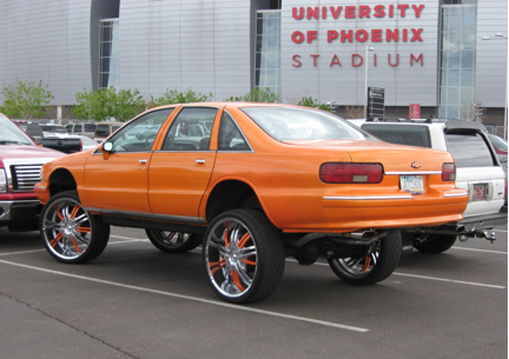 Donk spotted in Phoenix