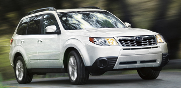2012 Subaru Forester, Best Small Crossovers