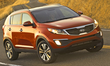 2012 Kia Sportage, Best Small Crossovers