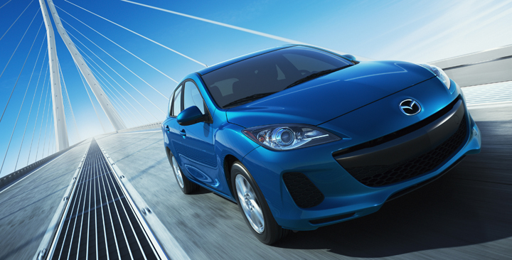 2012 Mazda 3 with SKYACTIV technology