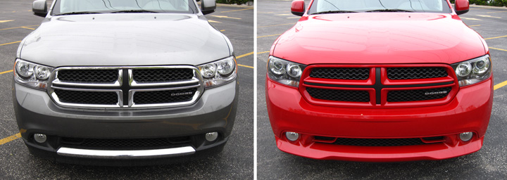 2012 Dodge Durango Crew and R/T (fronts)