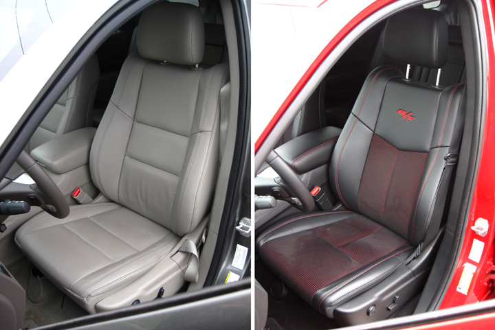 2012 Dodge Durango Crew and R/T (interior)