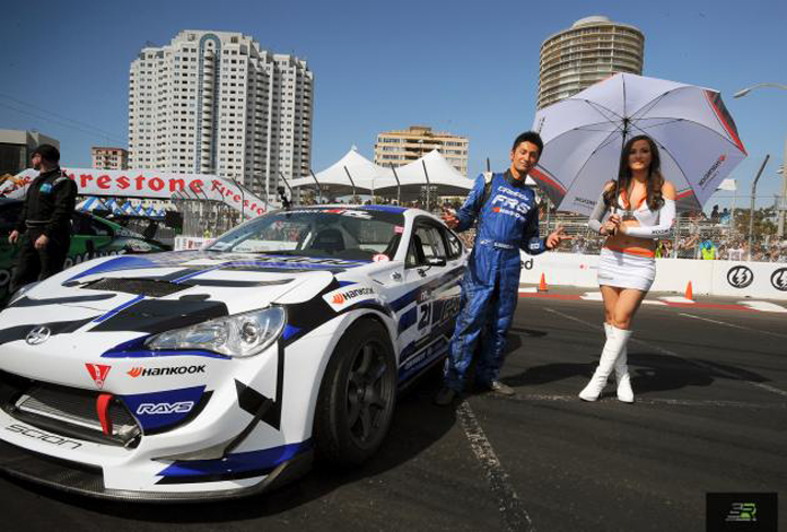 Ken Gushi with his Scion FR-S