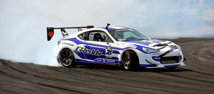 Scion FR-S drifting