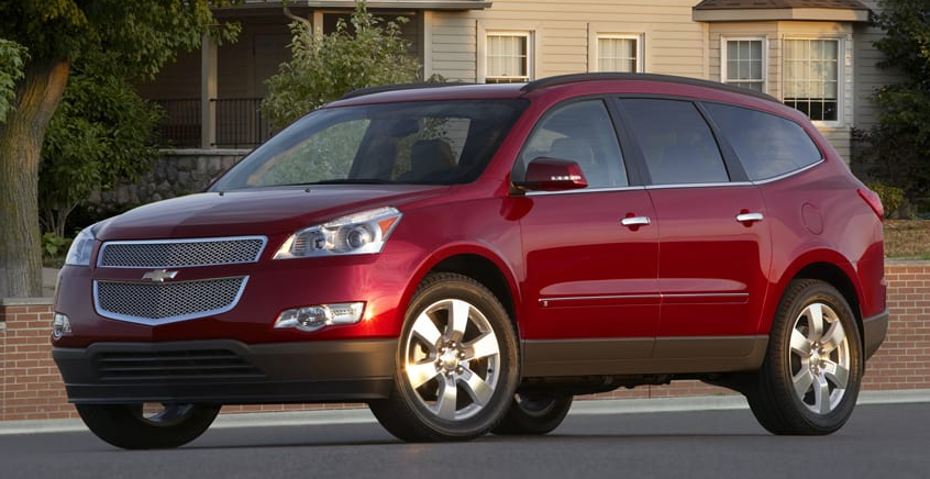 2012 Traverse, Best Midsize Crossovers of 2012