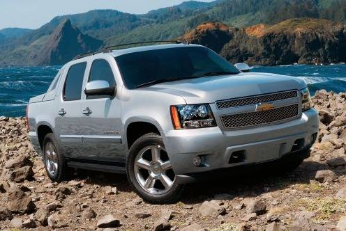 2012 Chevrolet Avalance, 2012 Large Pick Up Trucks