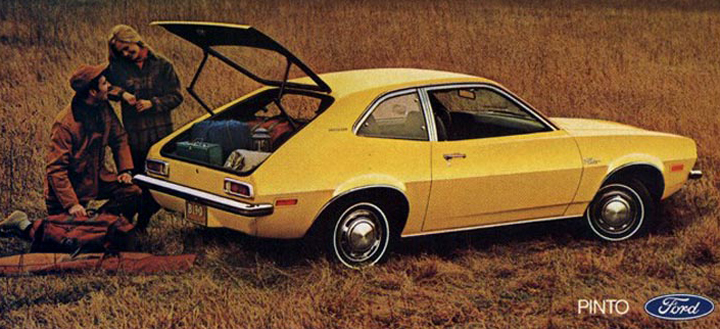Ford Pinto ad