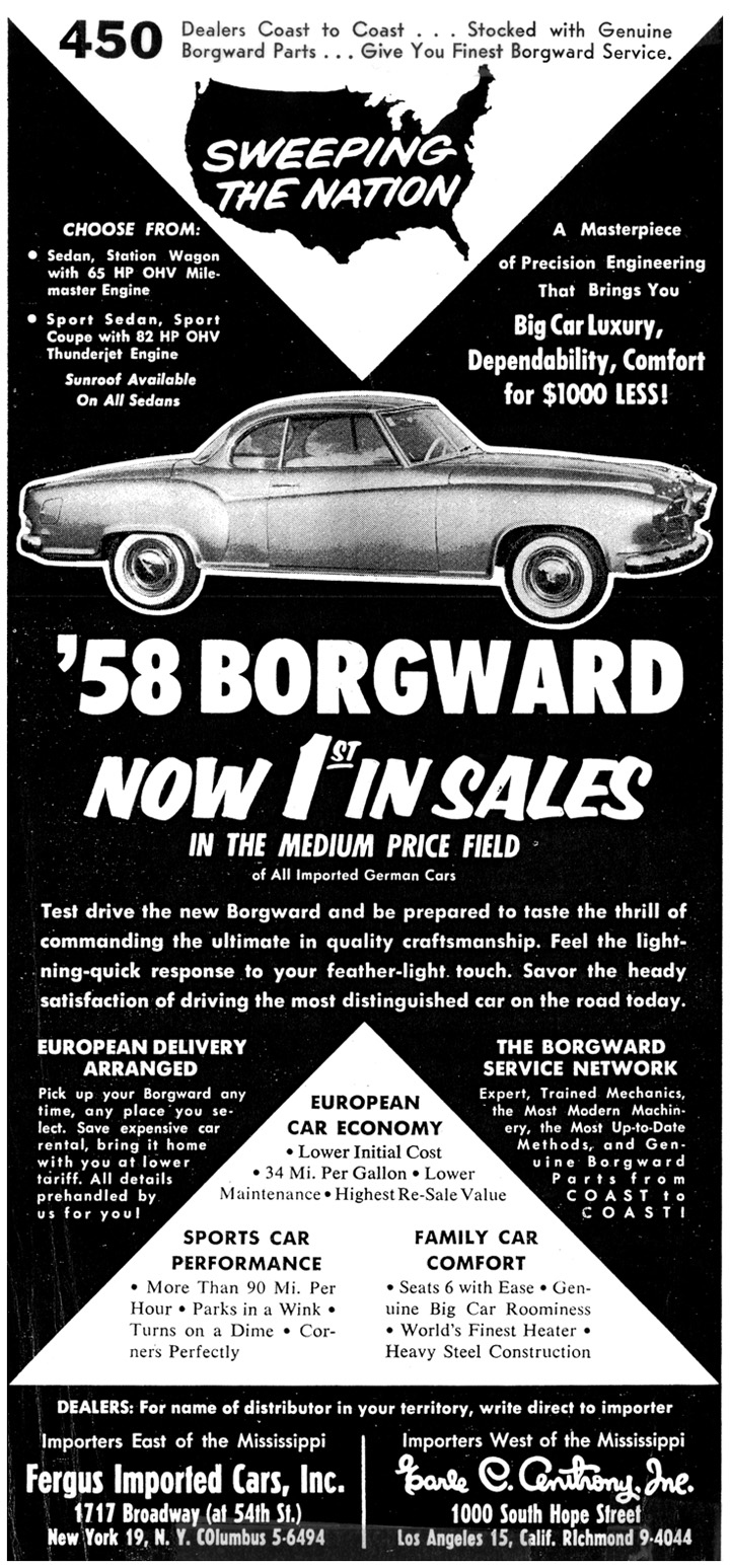 Borgward Isabella ad, full