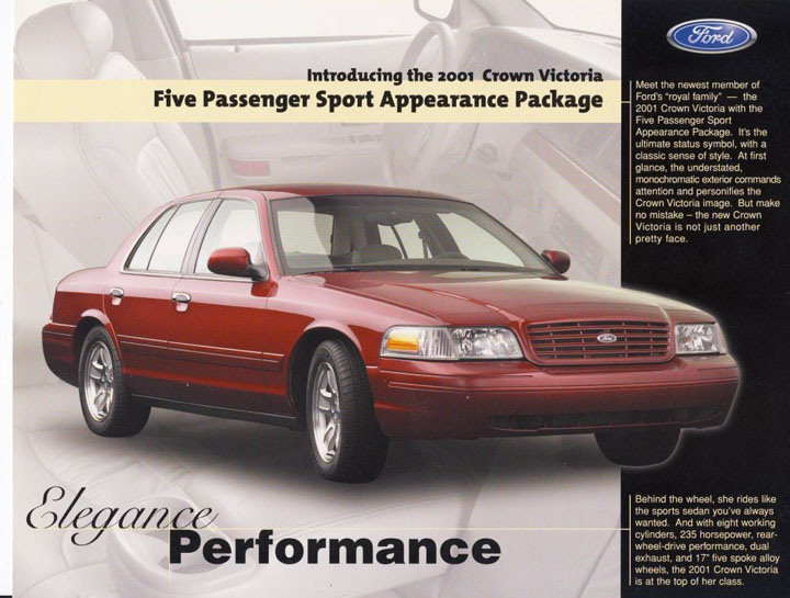 Ford Crown Victoria ad