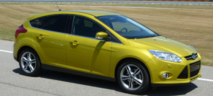 Euro-spec Ford Focus