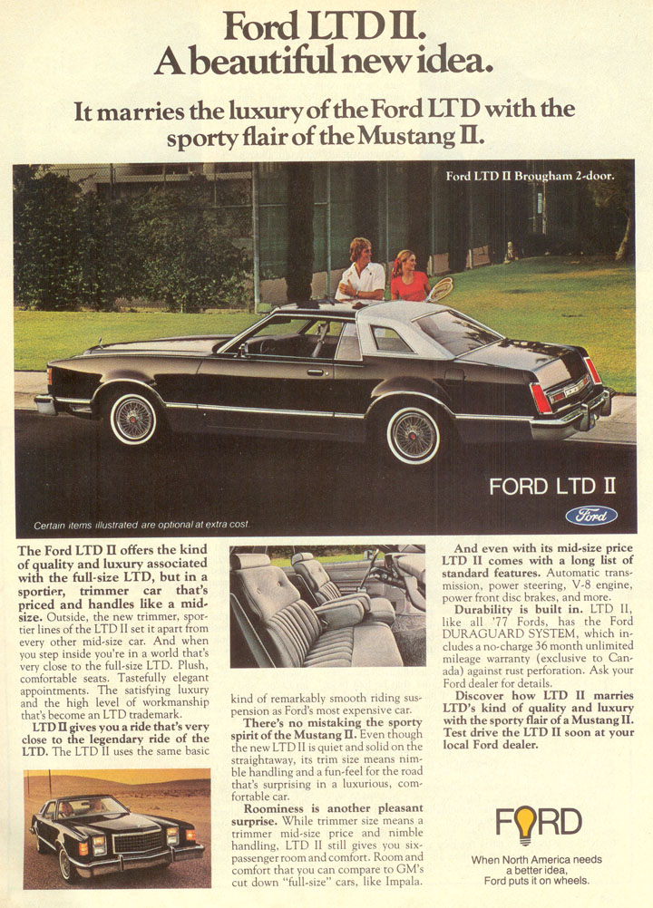 Ford LTD ad