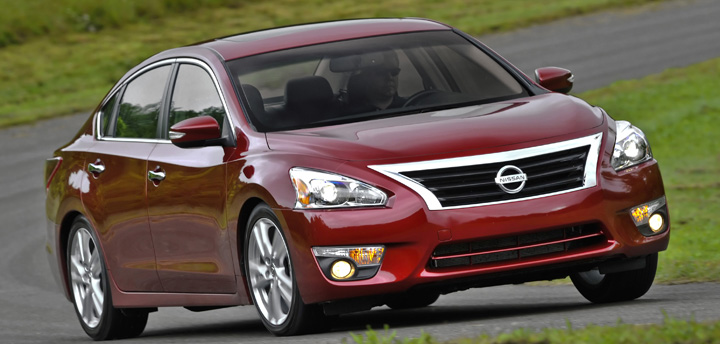 2013 Nissan Altima, Best Midsize Cars