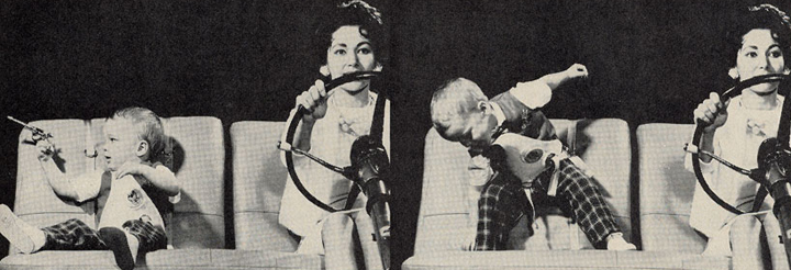 Child Safety Harness >> Car Safety for Kids, 1950s Style: Put 'Em in a Harness and Give 'Em a Gun! | The Daily Drive ...