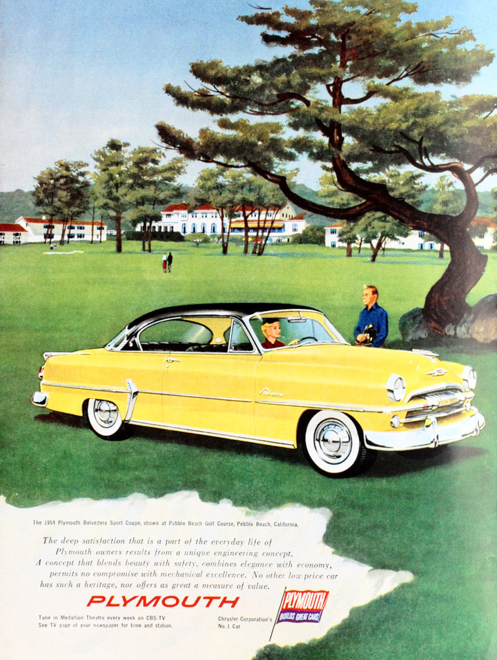 1954 Plymouth ad