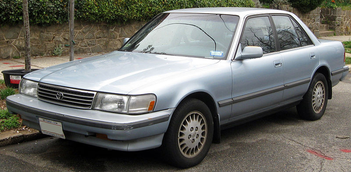 1991-1992 Toyota Cressida, Japanese Cars That Didn't Get Enough Respect