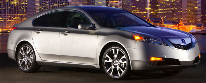 2010 Acura TL SH-AWD, My Five Favorite Vehicles