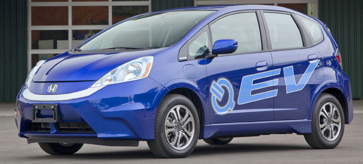 Honda fit ev the daily drive consumer guide the daily for Honda fit electric