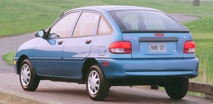 1997 ford aspire mpg