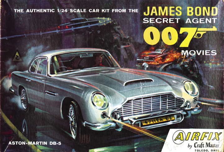 Aston Martin DB 5 By Airfix