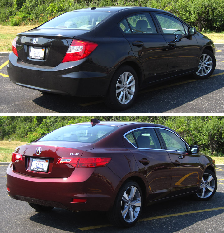 2013 Acura ILX Vs. 2012 Honda Civic: A Real-World