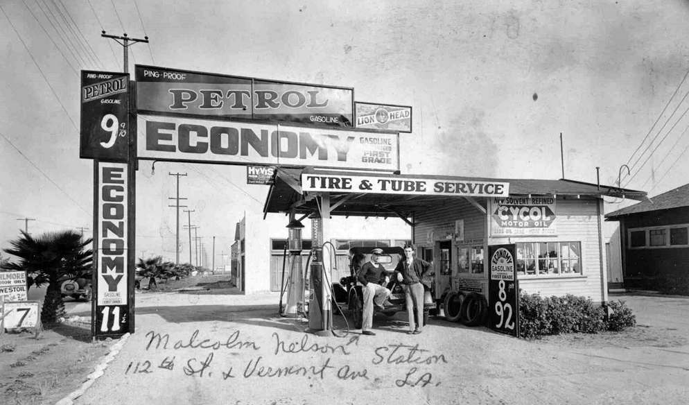 1930 Gas Station