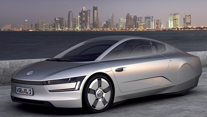 VW XL1 Plug-in Hybrid