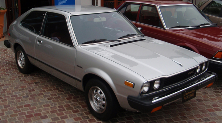 1976 Honda Accord vs. 2013 Honda Accord