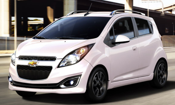 Chevrolet Spark Colors