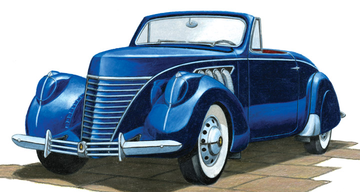 1936 Cord 810 The Daily Drive Consumer Guide