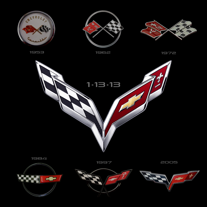 Vette Badge History: A Complete Logo Gallery | The Daily Drive ...