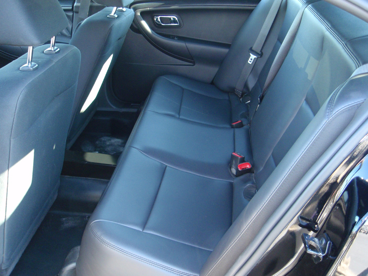 The Sedans Rear Seats Are Upholstered In Heavy Duty Vinyl And Revised Door Panels Delete Cupholders Map Pockets For Easier Cleaning Eww