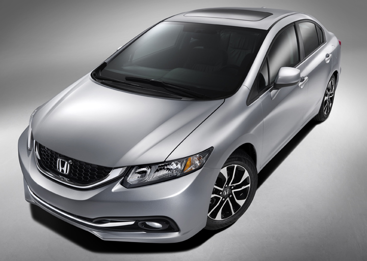 2013 Civic Teaser
