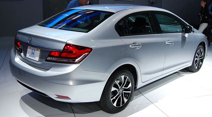 Honda Unveils Freshened 2013 Civic at LA Auto Show | The Daily Drive | Consumer Guide® The Daily ...