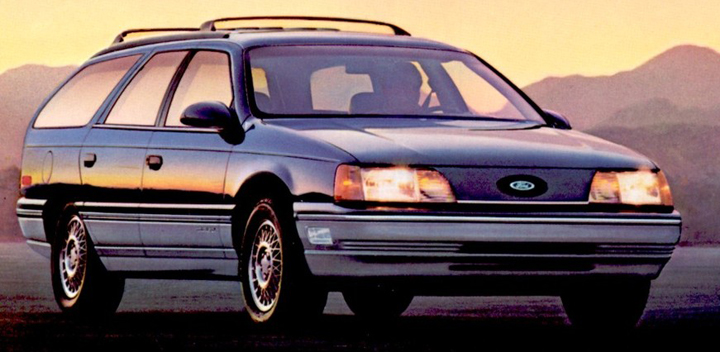 Future Shock: 1985 Ford LTD vs. 1986 Ford Taurus | The Daily Drive | Consumer Guide® The Daily ...
