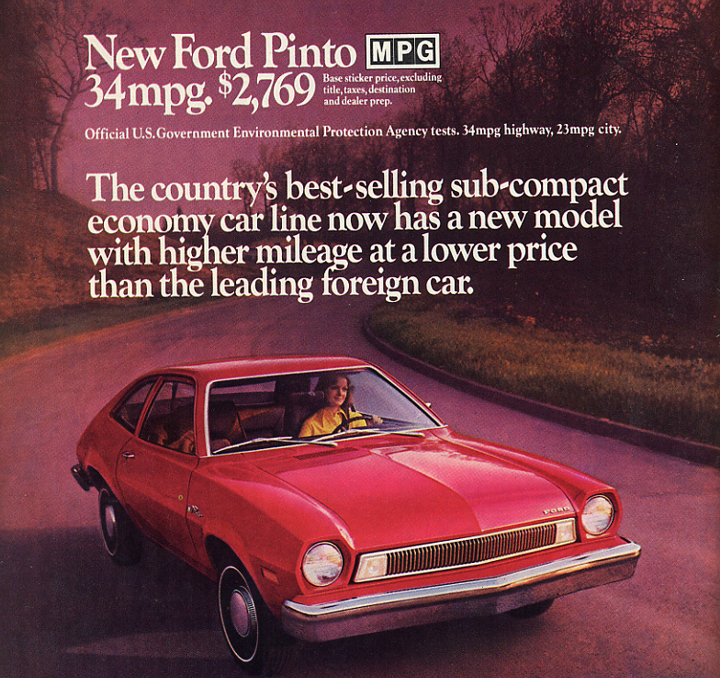 Ford Pinto Sedans And Ford: Price Of A 2013 Ford Pinto: $17,375