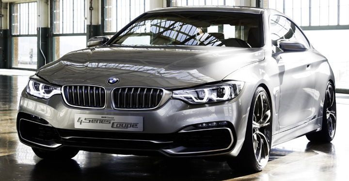 Bmw Concept Series Coupe on Affordable Muscle Cars
