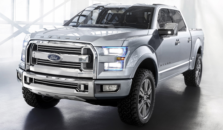 Ford Reveals The Atlas Concept The Next Generation F 150 The Daily