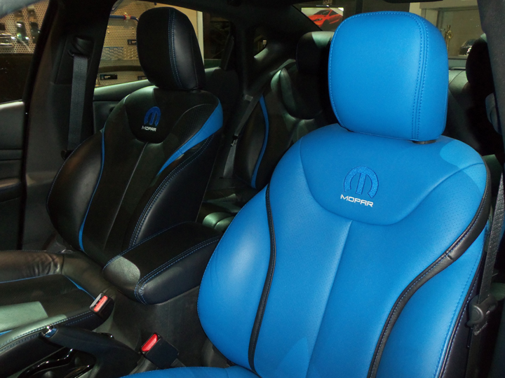 dart mopar dodge edition auto chrysler gives treatment interior action
