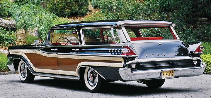 Photo Feature 1959 Mercury Colony Park The Daily Drive