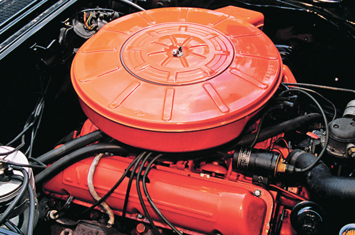 1959 Mercury Colony Park engine