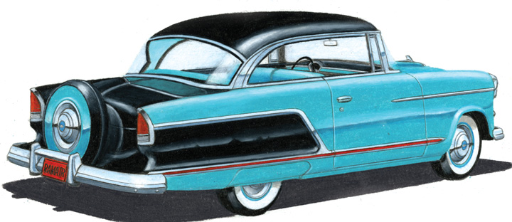 1955 Chevrolet Drawings