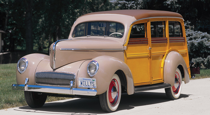 Photo Feature 1941 Willys 441 Station Wagon The Daily Drive