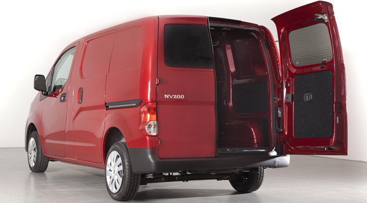 2013 Nissan NV200: Similar to the Ford Transit Connect ...