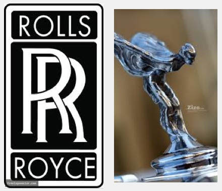 Rolls Royce Logo, Spirit of Ecstacy