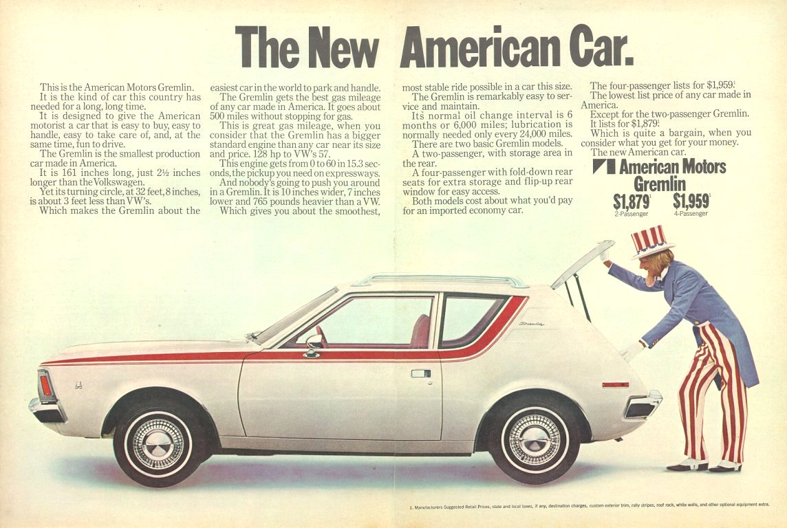 How Much? Six Cool Car Ads with Prices - The Daily Drive | Consumer ...