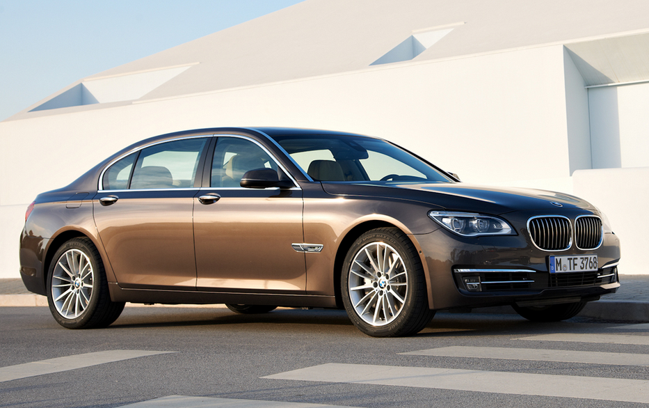BMW's flagship 7-Series sedan will be redesign for 2016. A 2013 model is shown here.