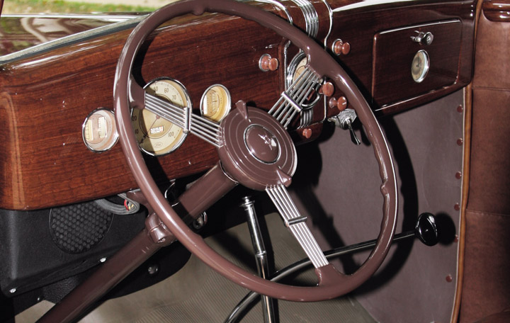 Photo Feature 1936 Ford Deluxe Club Cabriolet The Daily