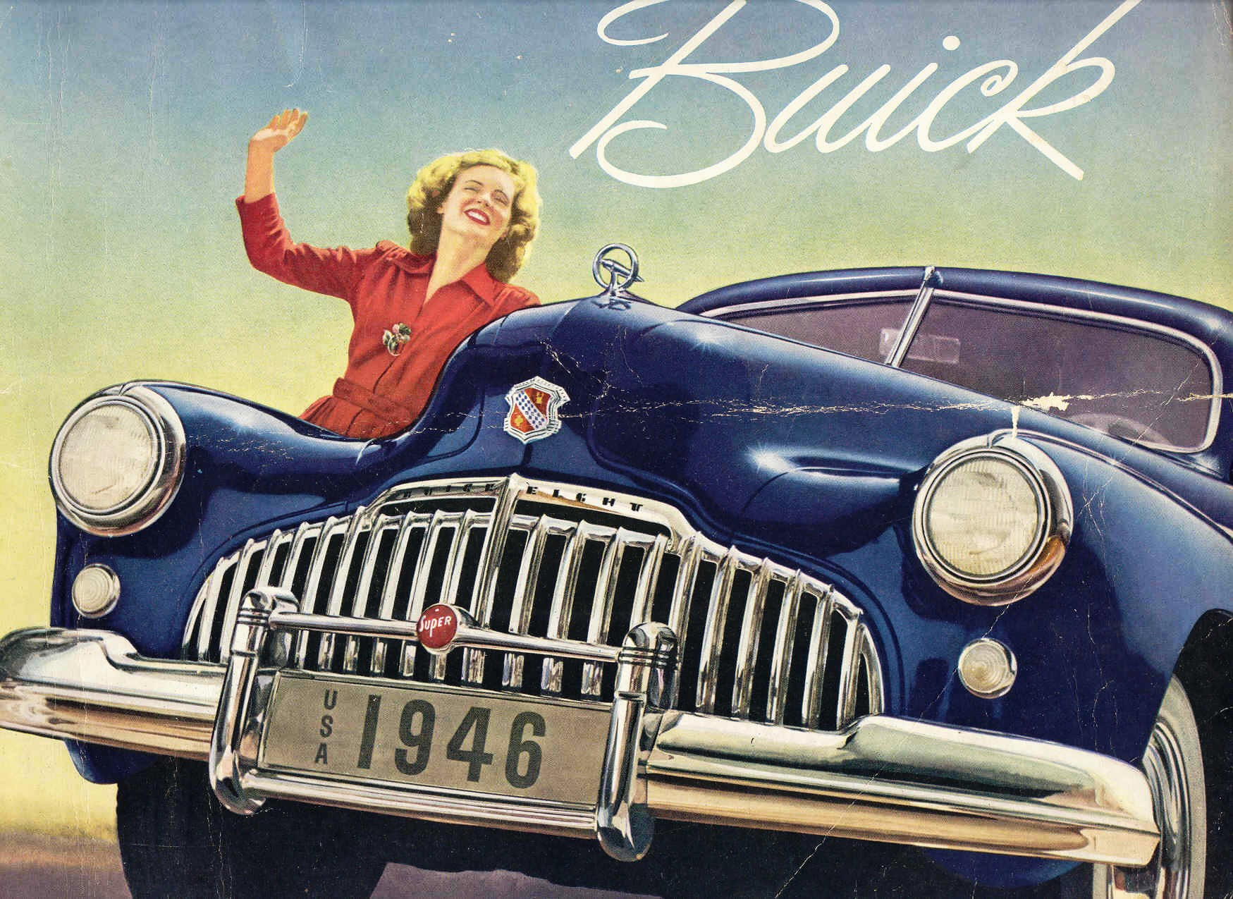 Women in Car Brochures