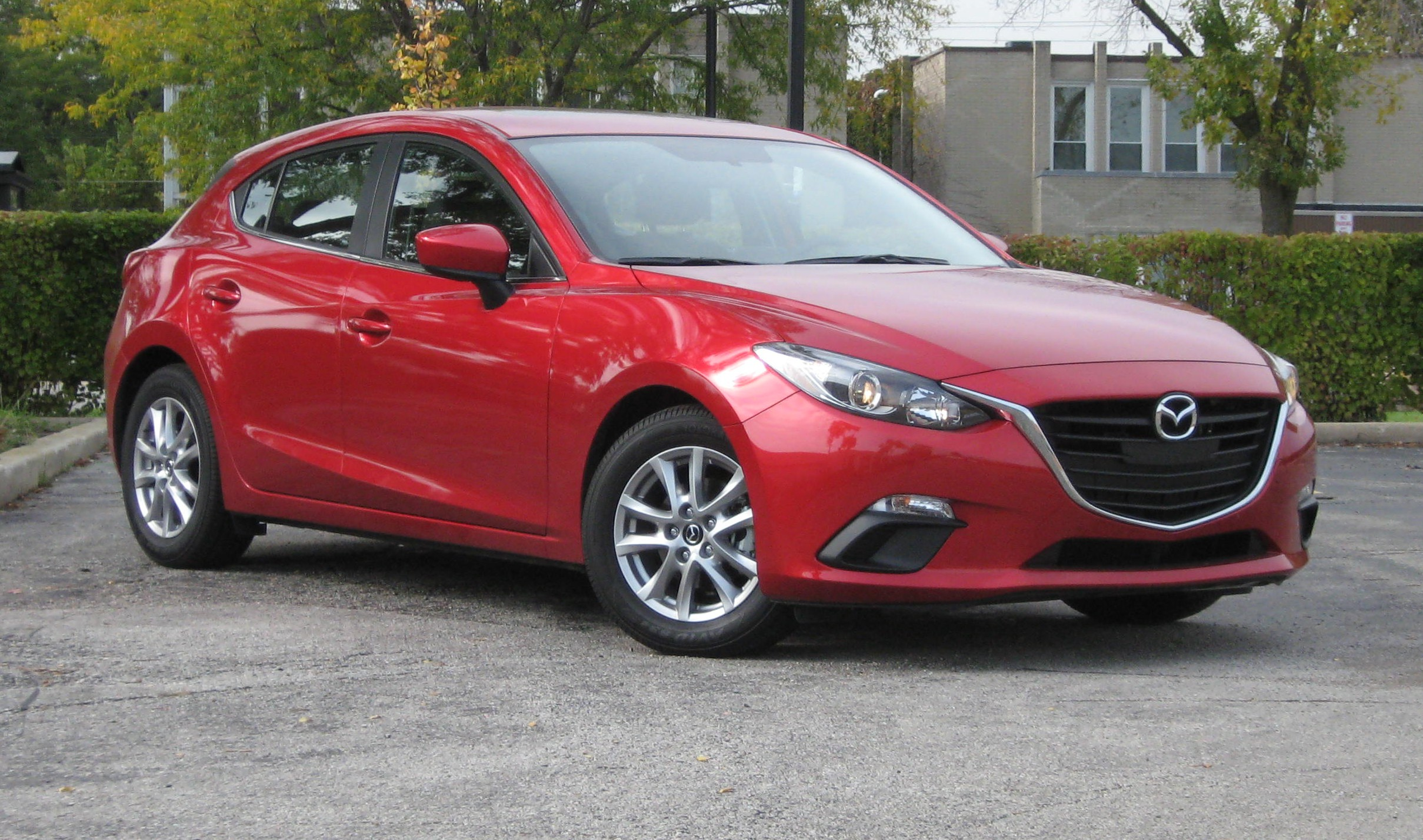 test drive 2014 mazda 3 i 5 door grand touring the. Black Bedroom Furniture Sets. Home Design Ideas