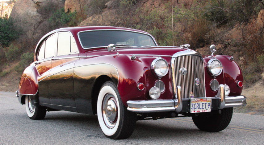 Photo Feature 1959 Jaguar Mark Ix Four Door Sedan The